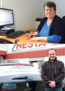De nouveaux équipiers chez NESTA Equipement : Marie-Paule et Guillaume