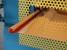 Ourlet avec plis intérieur avec amorce de roulage gouttière 1/2 ronde